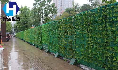 绿篱围挡-神农城